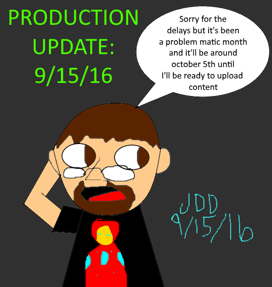 Production update:9/15/16