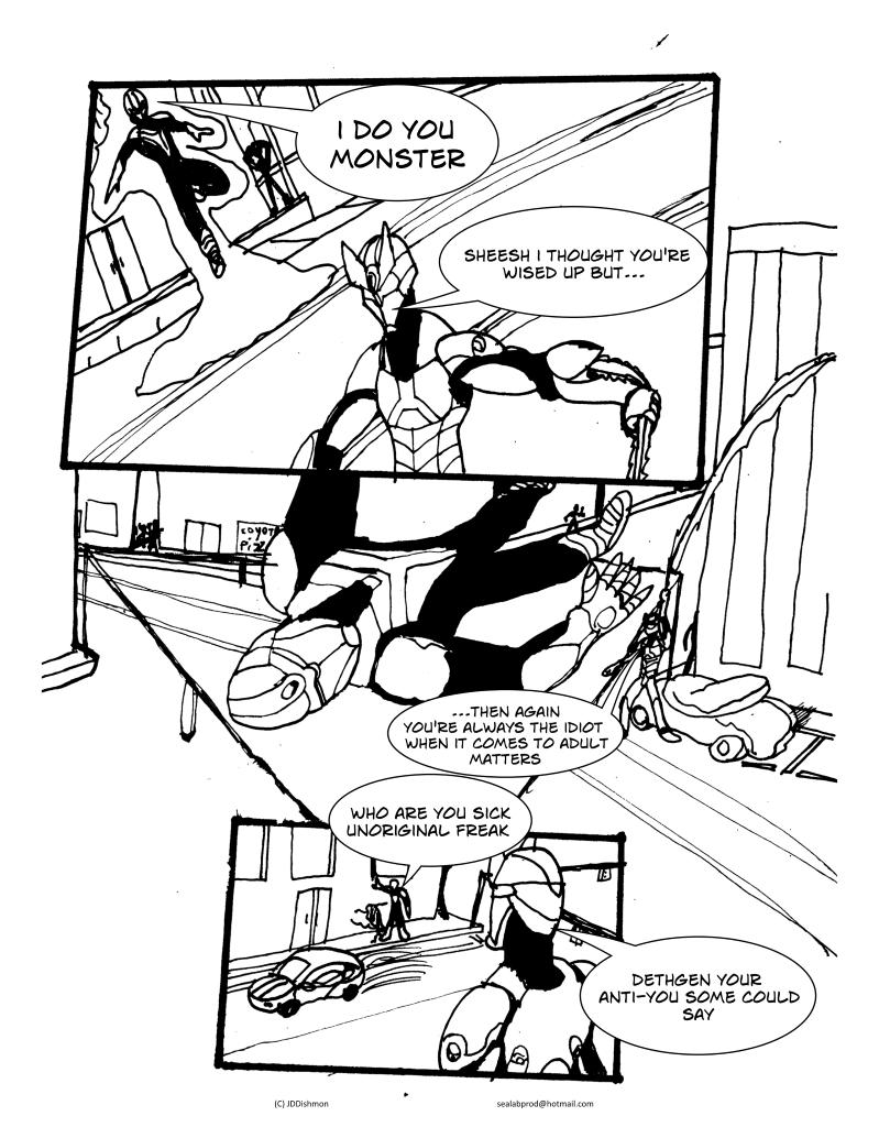 #3 pg9: the guy's name is Dethgen
